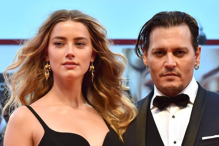 Amber Heard diz que ex-marido Johnny Depp ameaçou matá-la várias vezes