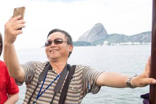 Turistas de Taiwan no Rio de Janeiro