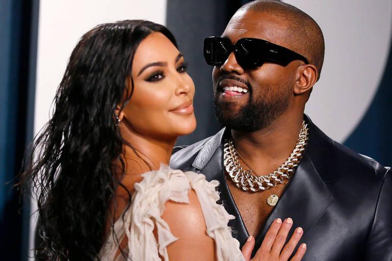 Kanye West pede perdão a Kim Kardashian no Twitter: 'Sei que te machuquei'