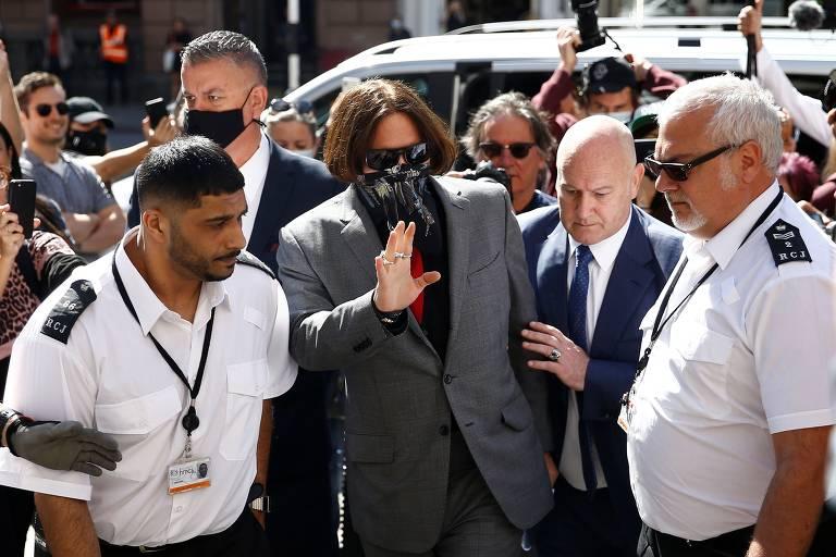 Julgamento de Johnny Depp contra o The Sun
