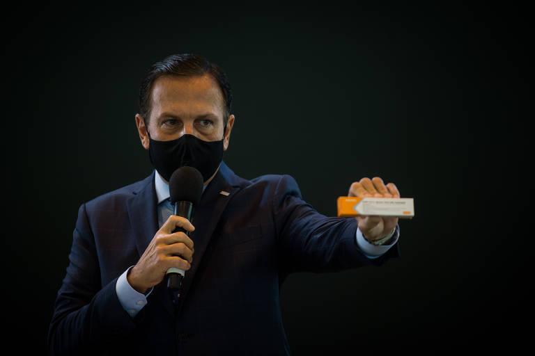 Coronavac é testada em São Paulo