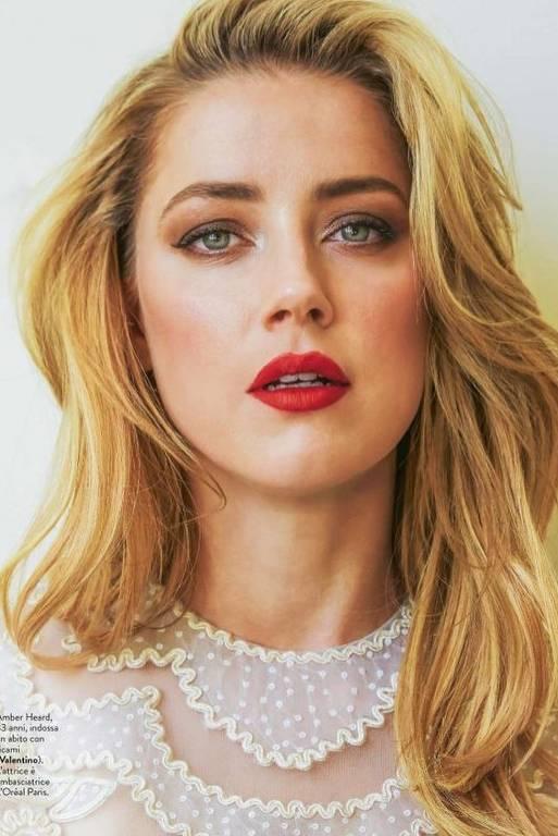 Imagens da atriz Amber Heard