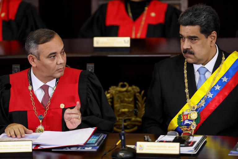 EUA oferecem recompensa de mais de R$ 26 milhões por chefe do Supremo da Venezuela