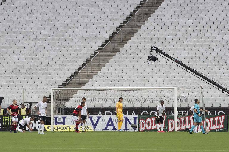 Assim como na partida contra o Ituano, o Corinthians vai enfrentar o Palmeiras com sua arena vazia