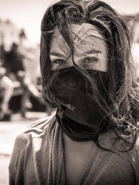 Gal Gadot, a Mulher Maravilha,na pandemia