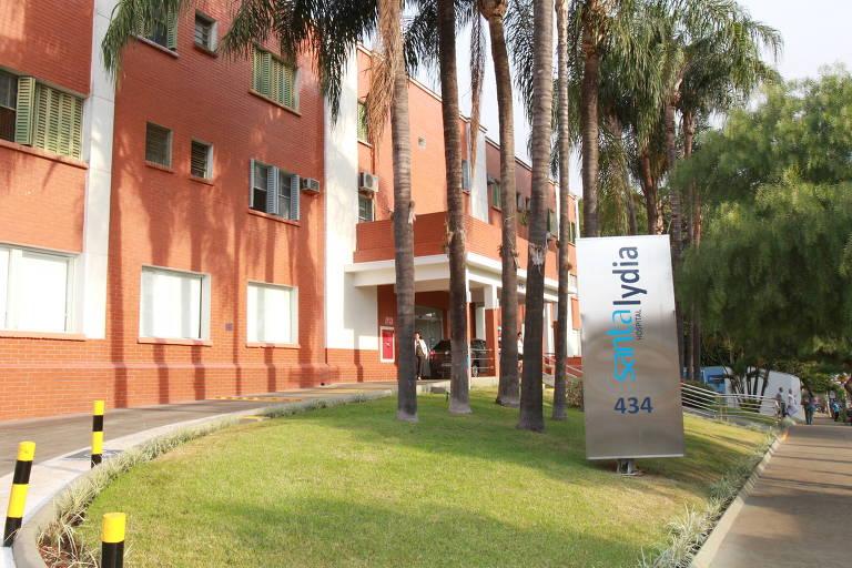 Hospital Santa Lydia, em Ribeirão Preto (SP)