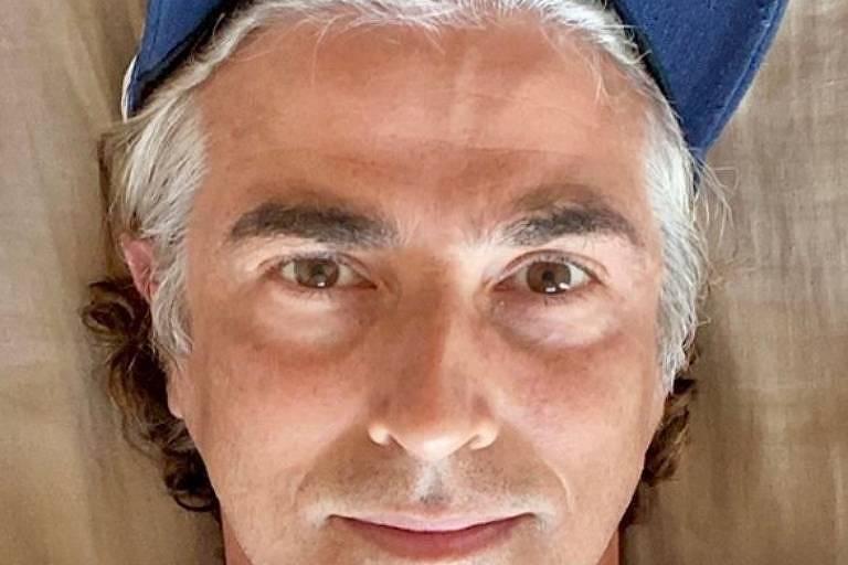 Reynaldo Gianecchini grisalho