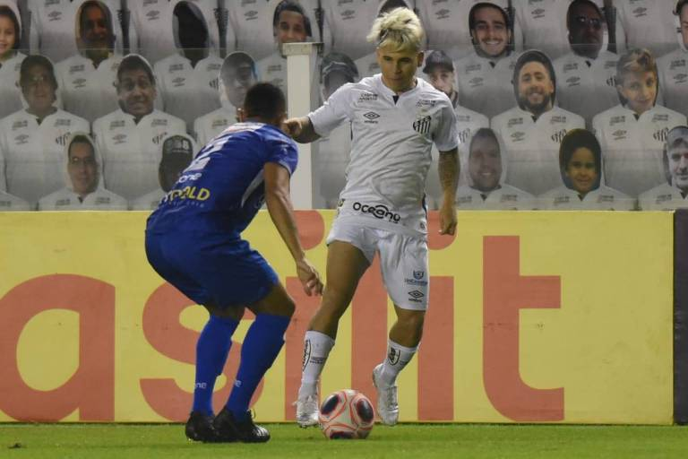 Santos fica apenas no empate com Santo André em jogo fraco