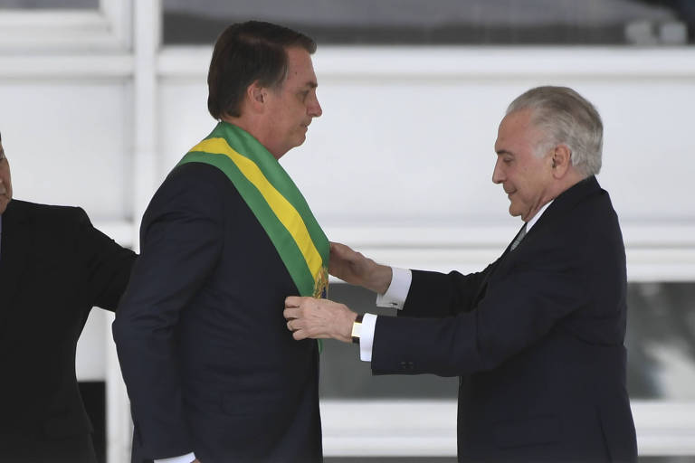 Posse do Jair Bolsonaro como Presidente da Republica