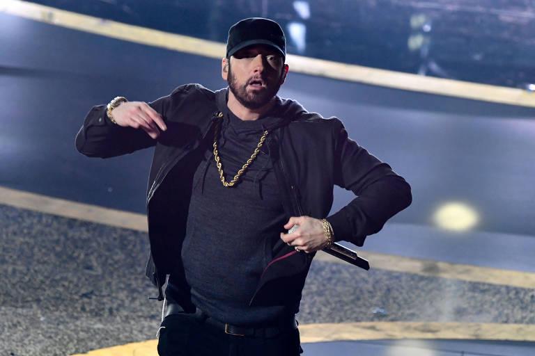 Imagens do cantor Eminem