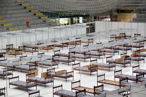 Hospital de Campanha de Pelotas, com 159 leitos de enfermaria, foi fechado