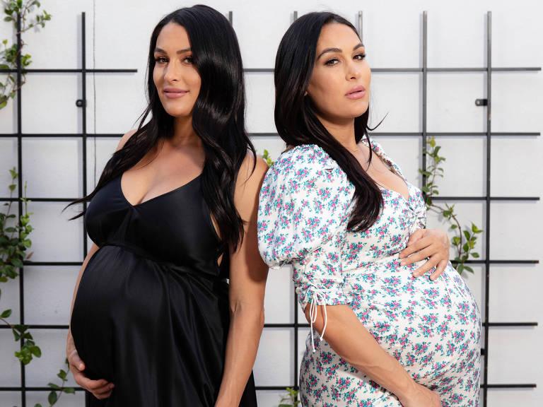 Brie e Nikki Bella são estrelas de um reality e campeãs aposentados da WWE