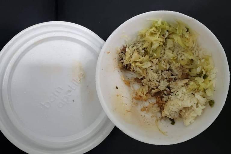 Criança que comeu marmita envenenada na Grande SP está internada há um ano
