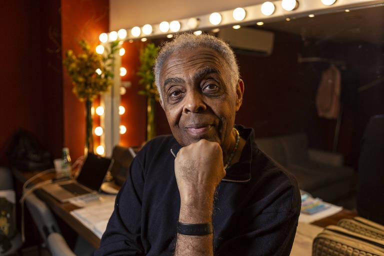 Na foto, Gilberto Gil