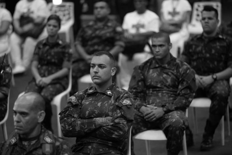 Efetivo do Exército Brasileiro que atua no fortalecimento ao combate ao novo coronavírus no Rio
