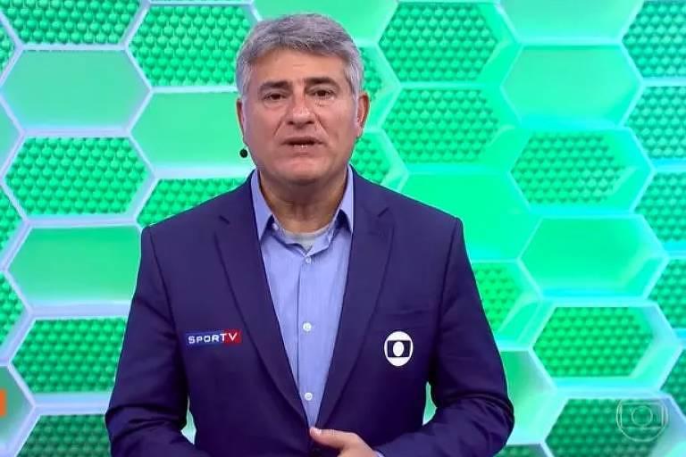 Cléber Machado é narrador da Globo