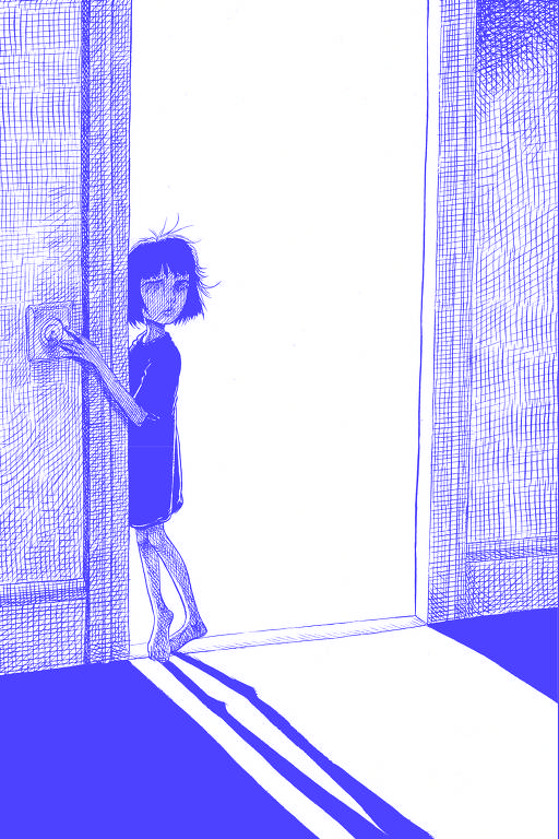 Ilustrações da nova edição de 'Coraline'