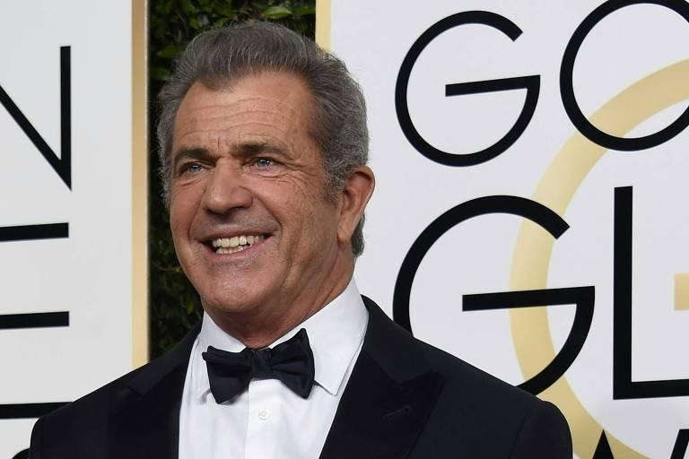 Mel Gibson no 74º Globo de Ouro
