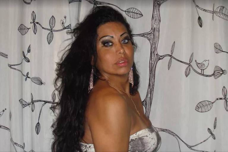 A transexual brasileira Manuela de Cássia, morta em Milão, na Itália
