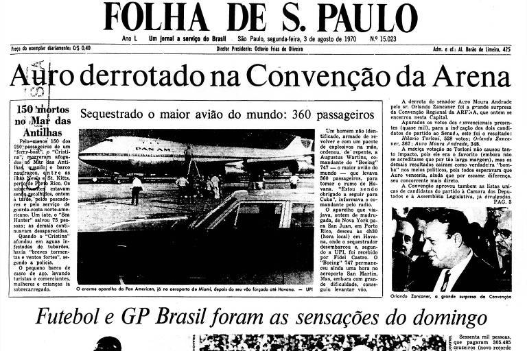 1970: Tupamaros exigem libertação dos presos políticos para soltar cônsul
