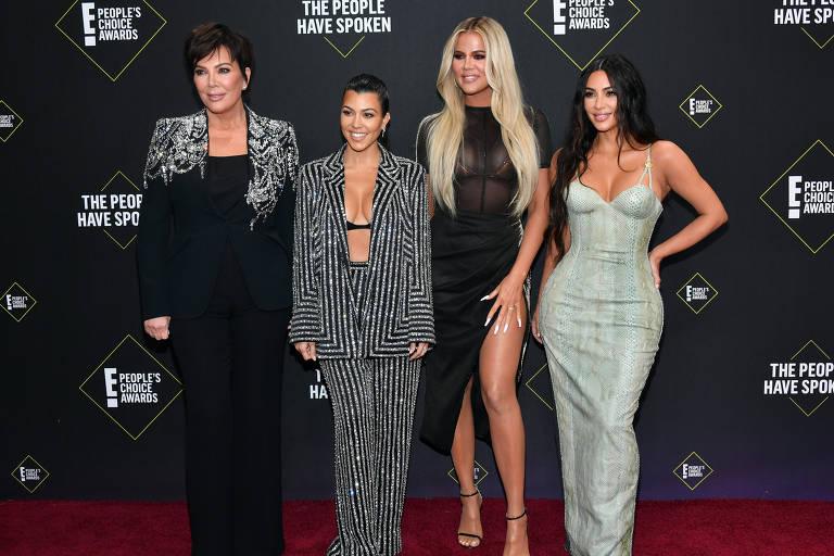 Imagens da família Kardashian