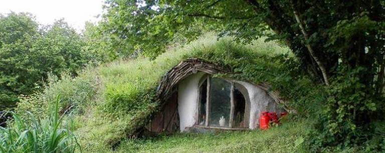 """""""Casa Hobbit"""" no País de Gales"""