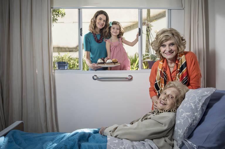 Relação entre avós e netos durante a quarentena da Covid-19