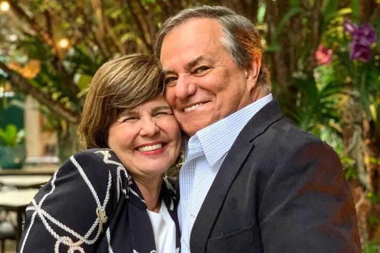 Ronnie Von com a mulher, Kika