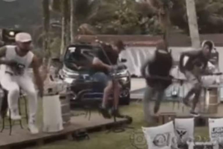 Live do grupo Aglomerou termina em tiroteio