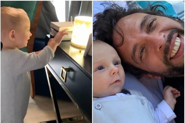 Filho de Nick Cordero, Elvis, de um ano, reconhece pai morto por Covid-19