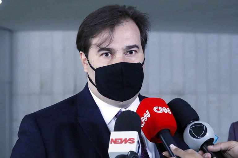 Este é Rodrigo Maia