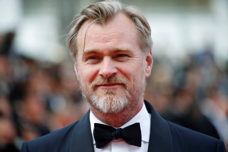 Christopher Nolan em Festival de Cannes de 2018, na França