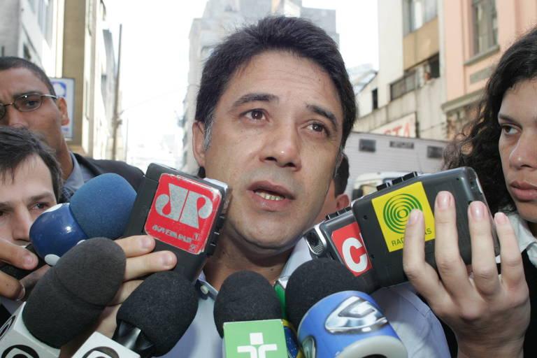O ex-secretário-geral do PT Silvio Pereira, em foto de 2005