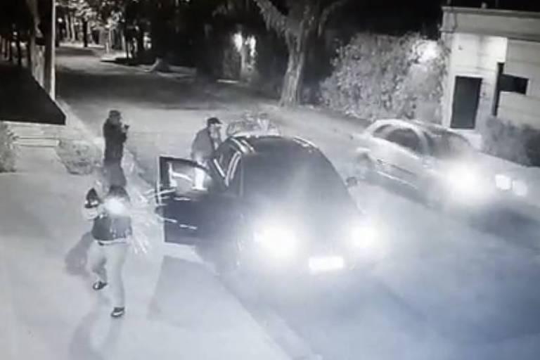 Tiro fuzil em bairro nobre