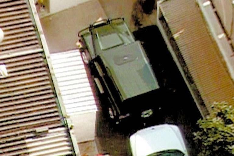 A Land Rover que foi comprada para Sílvio Pereira, em imagem de 2005