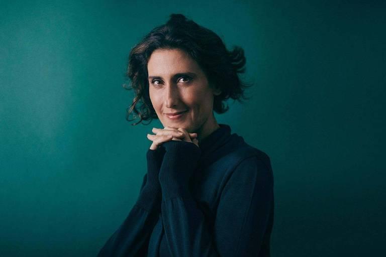 Retrato da chef e jurada do programa Master Chef Paola Carosella