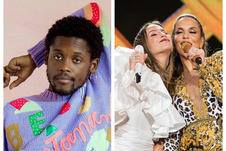 Maicon Rodrigues diz que Ivete e Claudia Leitte se apropriam do axé e da cultura afro