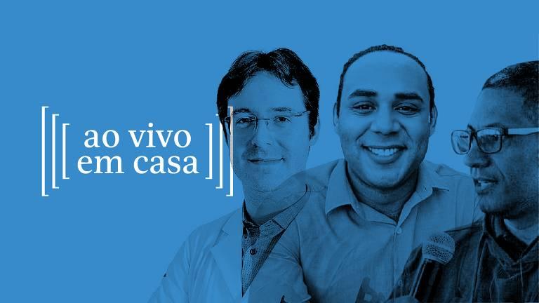 João Prats, Reginaldo Lima e Gilson Rodrigues