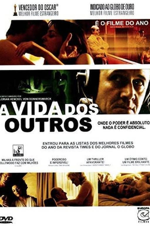 """Cartaz do filme """"A Vida dos Outros"""", de 2006"""