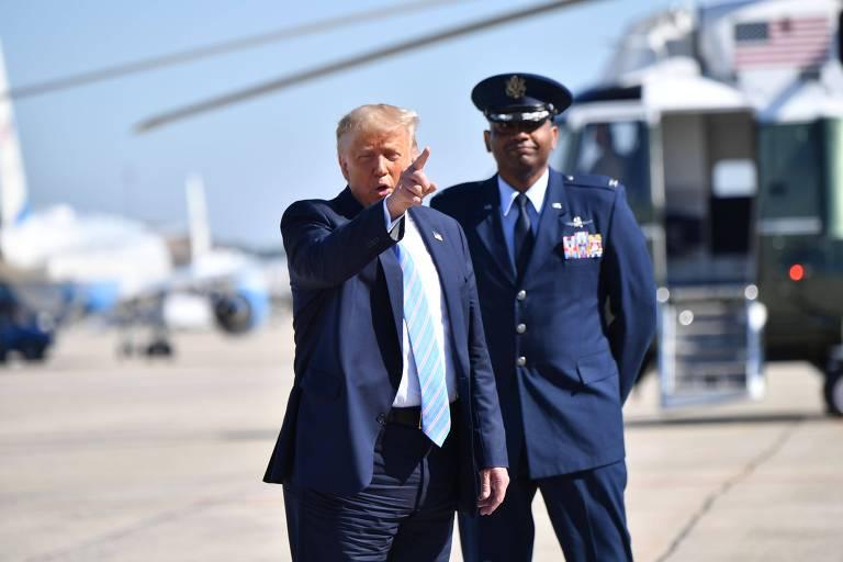 Trump reclama de gasto alemão com defesa e anuncia retirada de tropas do país