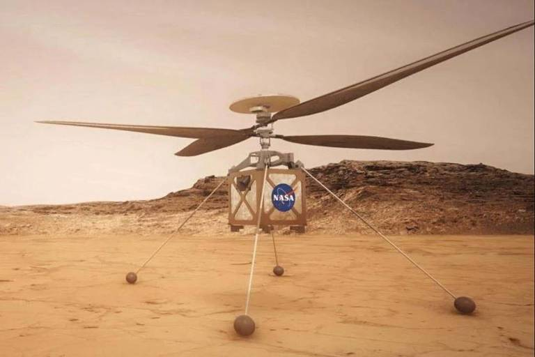 Explorador de Helicóptero em Marte