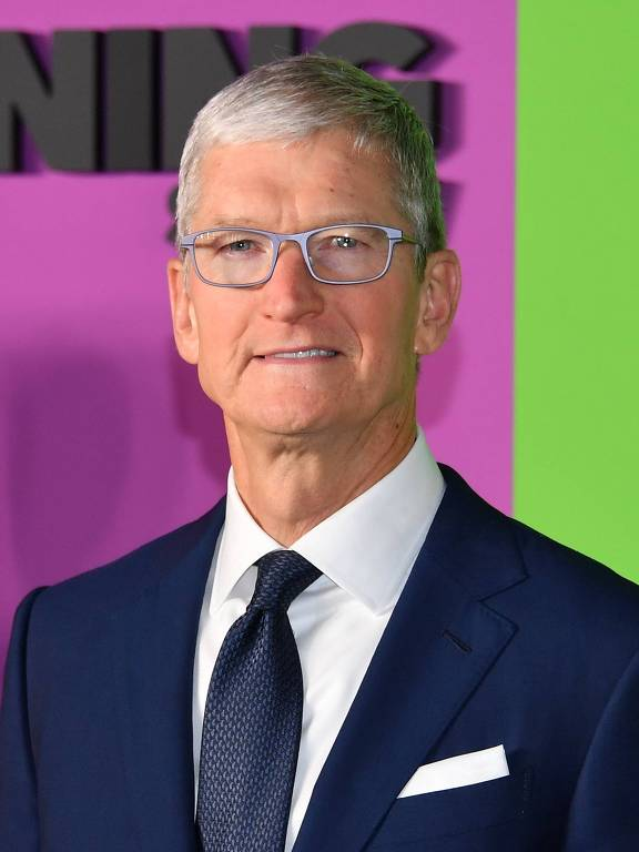 Presidente da Apple, Tim Cook