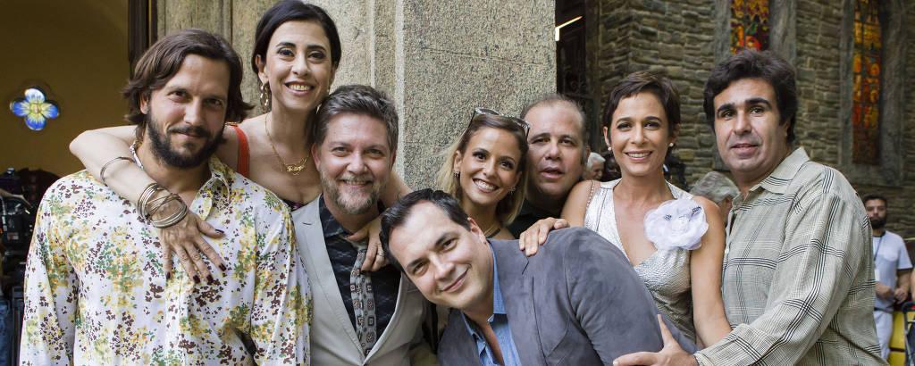 Armane ( Vladimir Brichta ), Fátima ( Fernanda Torres ), Tavares ( Kiko Mascarenhas ), PC ( Daniel Boaventura ),  Flavinha ( Fernanda de Freitas ), Djalma ( Otávio Muller ), Sueli ( Andréa Beltrão ) e Tijolo ( Orã Figueiredo ).
