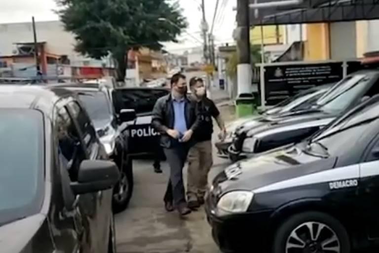 O vice-prefeito de Arujá, Márcio José de Oliveira (PRB), foi preso na manhã desta quinta-feira (30) em uma operação da Polícia Civil para investigar irregularidades na secretaria de Saúde da cidade