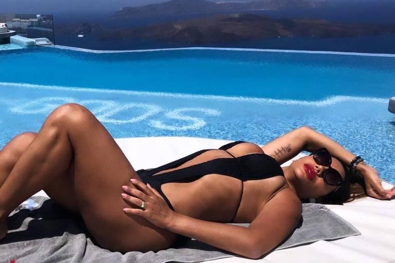 Ana Paula Evangelista, modelo