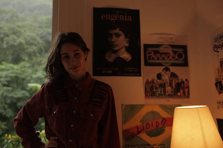 Luísa Arraes, atriz, em Amores Possíveis