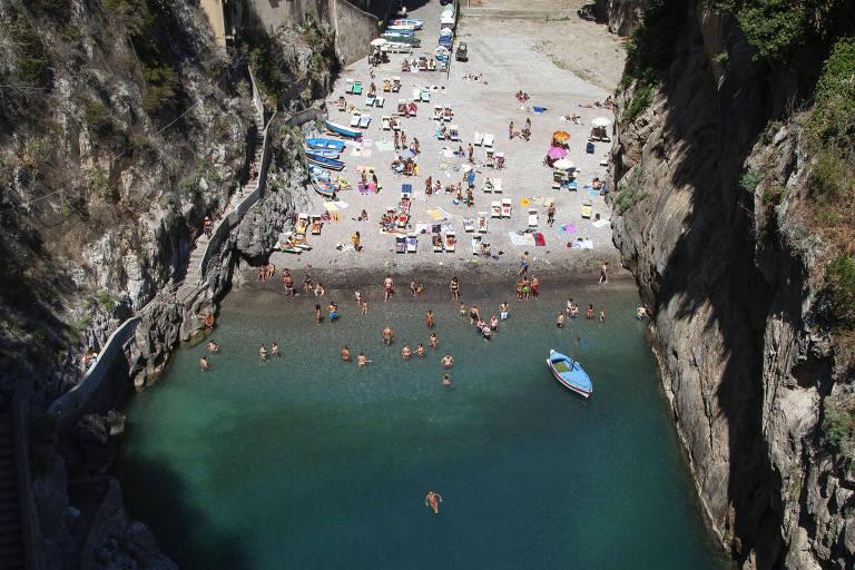 O verão italiano com distanciamento social