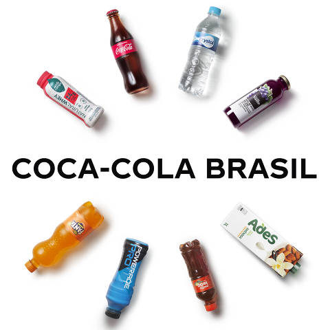 Logo coca-cola brasil