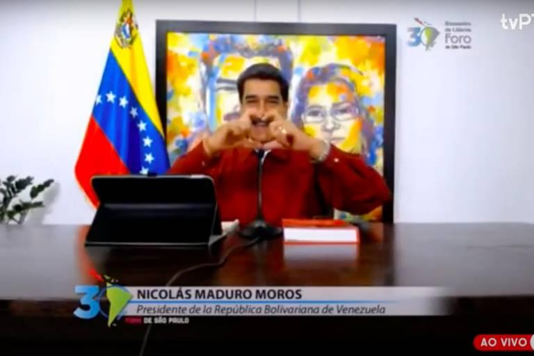 Em live, PT e ditadores latino-americanos celebram 30 anos do Foro de SP