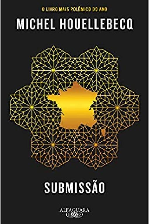 Capa do livro 'Submissão', de Michel Houellebecq